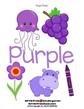 Purple Love (Simple Concept to Print-n-Learn)
