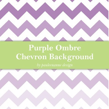 Purple Ombre Chevron Background