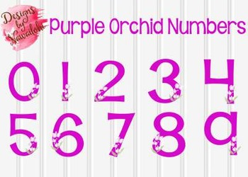 Purple Orchid Numbers