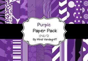 Purple Paper Pack