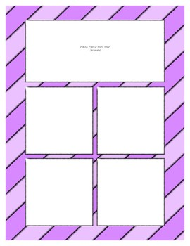 Purple Pastel Sorting Mat Frames * Create Your Own Dream Classroom Daycare