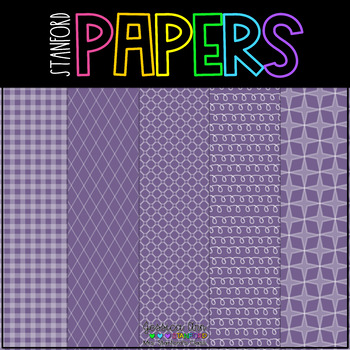 Digital Papers Purple People Eater {25 backgrounds - personal & commercial use}