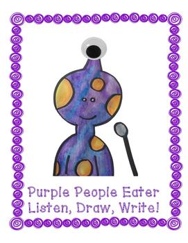 Purple People Eater - Listen, Draw, Write!