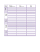 Purple Plan Book pages