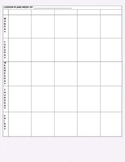 Purple Polka Dot Lesson Planner