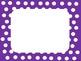 Purple Polka Dot Signs