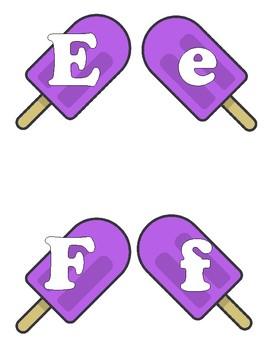 Purple Popsicle Banner