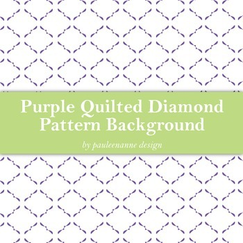 Purple Quilted Diamond Pattern Background