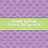 Purple Quilted Pattern Background