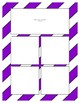 Purple Sorting Mat Frames * Create Your Own Dream Classroom / Daycare *