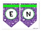 Purple Sugar Skull Bunting / Banner