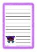 Purple Superheroes Worksheets