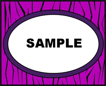 Purple Tiger Labels