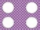 Purple Tile Classroom Labels