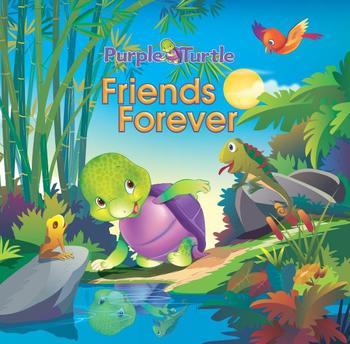 Purple Turtle: Friends Forever