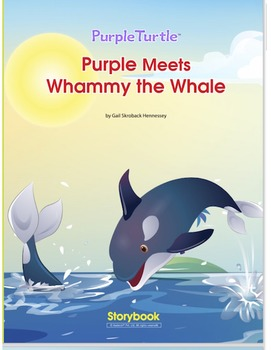 Purple Turtle Meets Whammy, the Whale