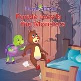 Purple Turtle Stories: Purple Befriends Monsters!(EBOOK)