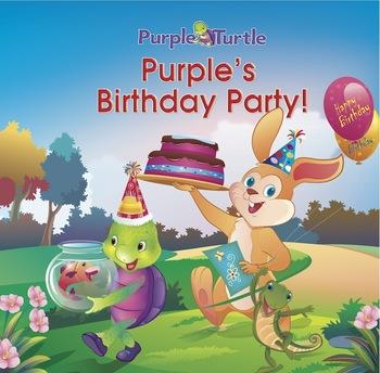 Purple Turtle Stories: Purple Turtle's Birthday Party(EBOOK)
