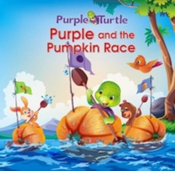 Purple Turtle and The Pumpkin Race!