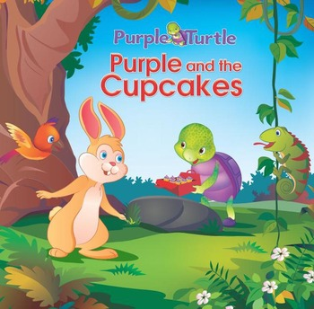 Purple Turtle and the Missing Cupcakes