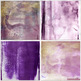 Purple Watercolor Digital Background Papers, Fall, Autumn