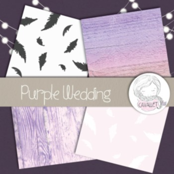 Purple Chic - Digital Papers