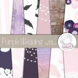 Purple Chic - Digital Papers