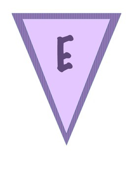 Purple Welcome Banner