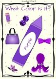 Purple - What Color Is It