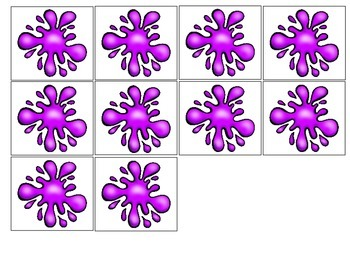 Purple-an interactive color book