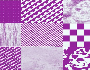 Purple and White Digital Paper
