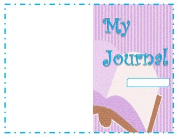 Purple and blue Mosaic Journal