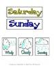 Purple_ Days of the Week & Weather- Calendar Accessories