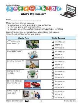 Purpose & Audience Lesson Plan Gr. 2-3