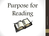 Purpose for Reading Reading Strategy