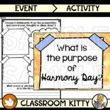 Purpose of Harmony Day Activity