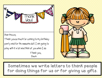 Purpose of Letter Writing - Mentor Text