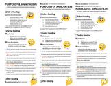 Purposeful Annotation Bookmark