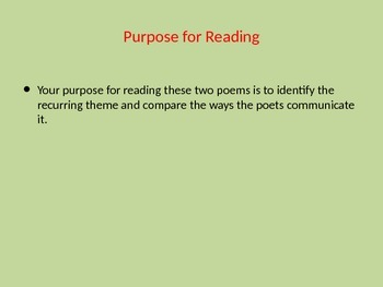 Purposeful Reading