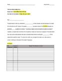 Purposeful Test Corrections Assignment Positive Behavior S