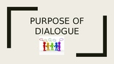 Purposes of Dialogue PowerPoint Presentation
