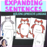 Expanding Sentences for Speech Therapy ELA