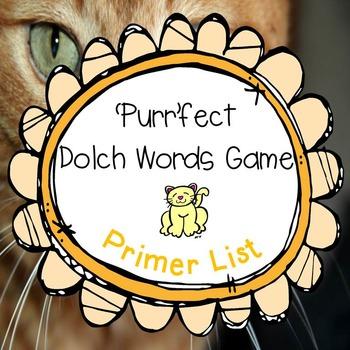 'Purr'fect Dolch Words Game Primer Set