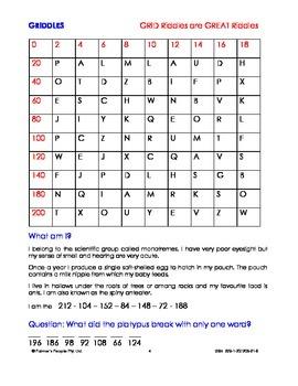 Purr's Mathematickles: Grid Riddles