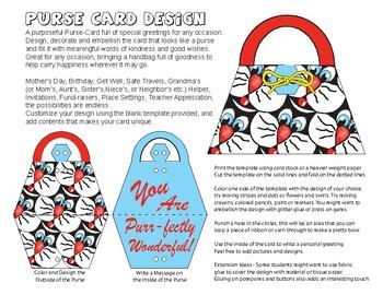 Purse Card Design