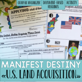 Manifest Destiny- Mexican Cession, Adams-Onis Treaty, Gadsden Purchase
