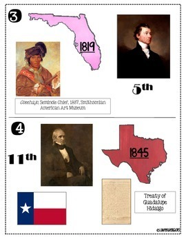 Manifest Destiny- Mexican Cession, Adams-Onis Treaty, Gadsden Purchase