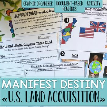 Manifest Destiny- Mexican Cession, Adams-Onis Treaty, Gads