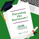Pursuing the Doctorate E-Book