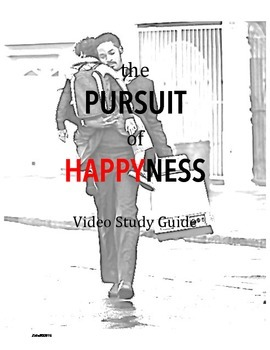 pursuit of happyness video study guide by k zutali tpt. Black Bedroom Furniture Sets. Home Design Ideas